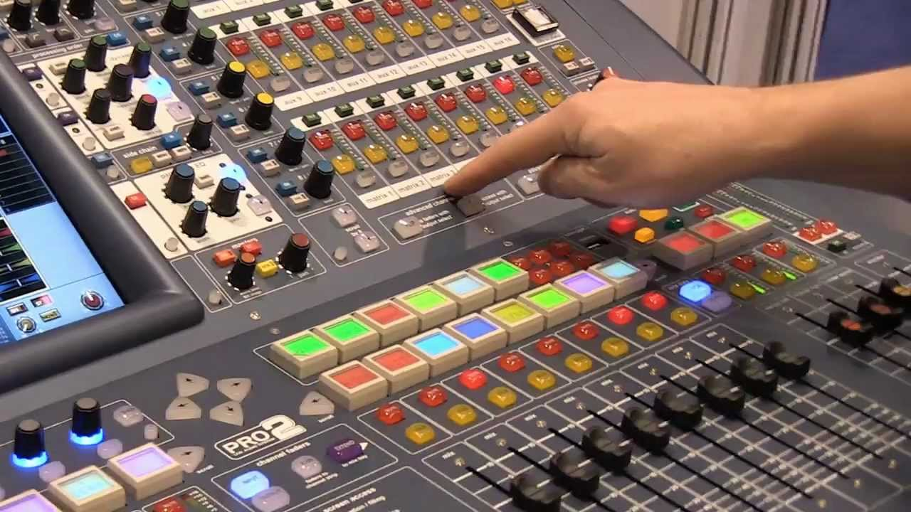 Midas PRO2 Digital Mixing Console  Detailed Review  YouTube