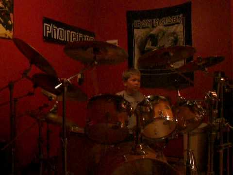 8 year old drummer....