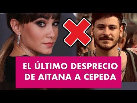 """El ÚLTIMO """"DESPRECIO"""" de Aitana a Cepeda"""