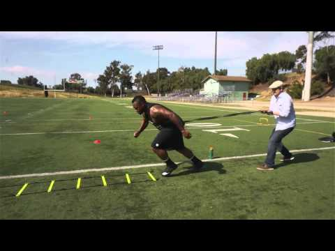 Shooting a CrossBox off-season football workout with Mike Tolbert