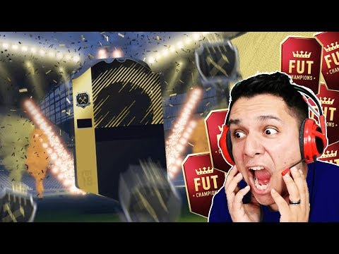 É ELITE!!! ABRINDO AS RECOMPENSAS!!! FIFA 18 FUT CHAMPIONS!! 🔥