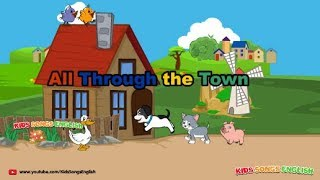 All Through the Town [Kids Song EngLish]