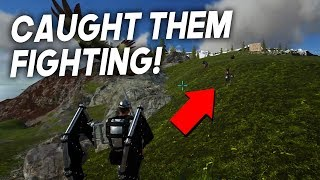 I CAUGHT THEM FIGHTING?! | Solo Official PvP Small Tribes - ARK Survival Evolved