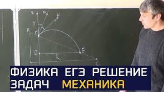 Типовые задачи ЕГЭ 2017 . Механика