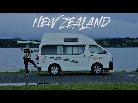 Travel New Zealand in a campervan   VANLIFE