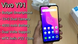 Vivo Y91 Unboxing And Camera Overview
