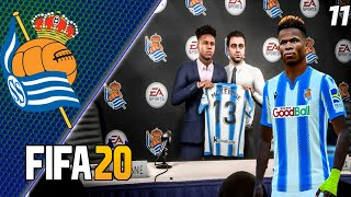 FIFA 20 КАРЬЕРА ЗА РЕАЛ СОСЬЕДАД 11 НОВЫЙ СЕЗОН СТАРТ В ЛЧ
