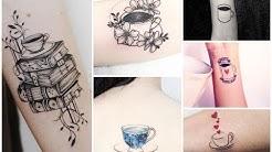 Inspiring Coffee and Tea Tattoo Design Ideas