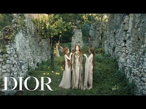 Dior alta costura Otoño-Invierno 2020-2021 - Le Mythe un fashion film de Matteo Garrone