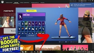 How to get the Boogie down emote for FREE in FORTNITE! | MAUI GR