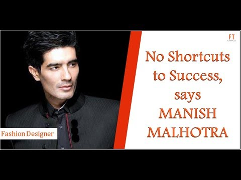 Know The Story Of Manish Malhotra The Fashion Designer Who S Been Ruling B Town Youtube