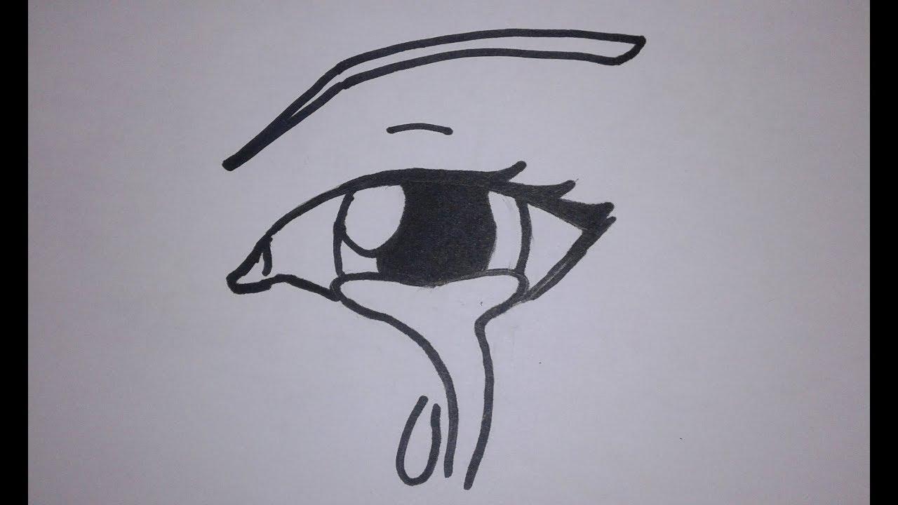 Comment dessiner un oeil qui pleure manga tuto youtube - Dessiner un manga ...