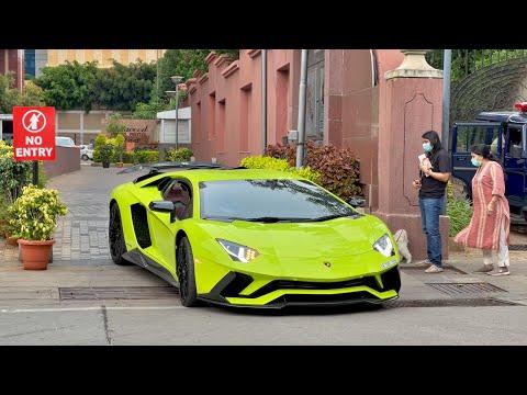 SUPERCARS IN INDIA | January 2021 | Lamborghini Aventador S, Ferrari F8…