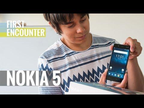 Nokia 5 first encounter