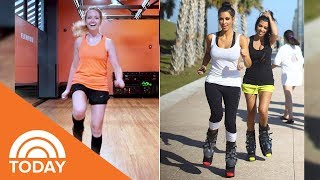 We tried Boing with Kangoo, A Fitness Class Sure To Add A Little Spring To Your Step! | TODAY