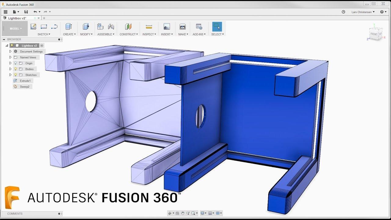 Quick! Modify an STL file — Fusion 360 Tutorial — #LarsLive 118