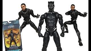Marvel Legends T'Challa Black Panther Series (Okoye BAF Wave) Figure Review