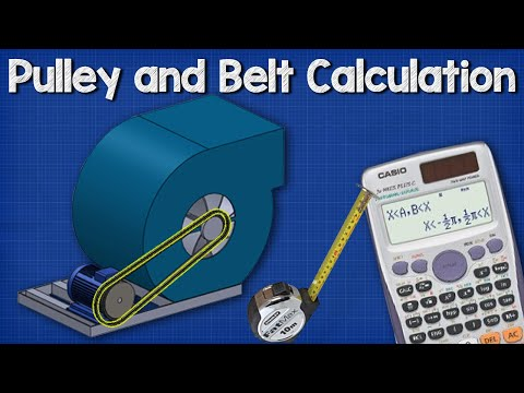 pulley-belt-calculations---belt-length,-distance-between-pulley-wheels
