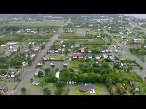 Hurricane Harvey: San Leon, TX