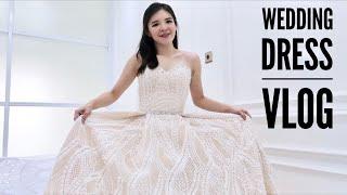 WEDDING DRESS VLOG - KEN & GRAT WEDDING #01