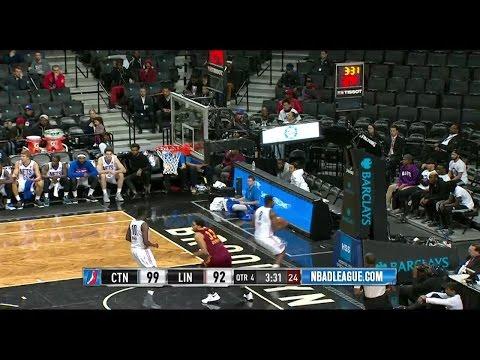 Grant Jerrett posts 24 points & 13 rebounds vs. the Nets, 11/23/2016