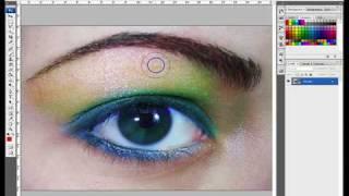 tutorial truccare un occhio photoshop