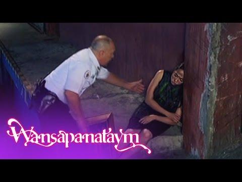 Wansapanataym: A security guard named Jaime finds Annika sleeping outside a warehouse