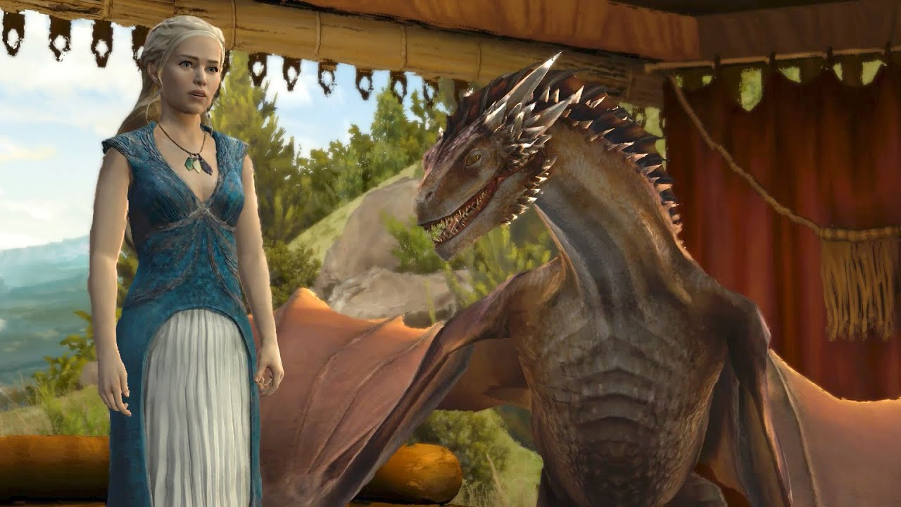 Touch My Dragon: Daenerys and Asher in Meereen (Game of ...