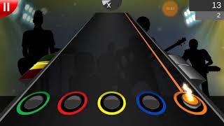155.-Guitar flash Belati thuan ( superman  is dead) carlos sg21