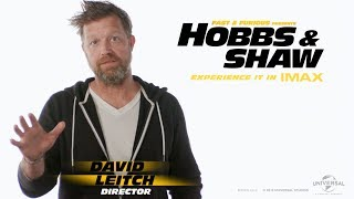 Director David Leitch | Fast & Furious Presents: Hobbs & Shaw