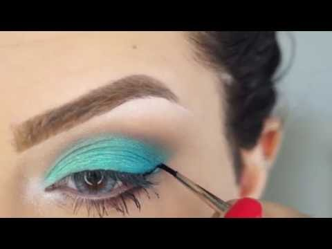 Aqua Blue eyes Tutorial by Makeup by Ani