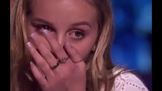 She Made Simon Very EMOTIONAL   MUST SEE! Semi Finals 1 | America's Got Talent 2017