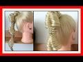 MINI FISH TAIL BUBBLE BRAIDS HAIRSTYLE / HairGlamour Styles /  Hairstyles / Hair Tutorial