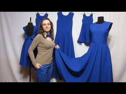 Сшить платье из габардина своими руками