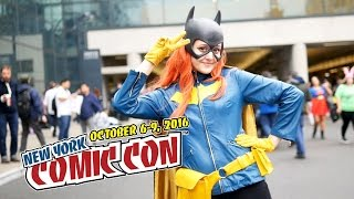 NYCC 2016 New York Comic Con 2016 Cosplay music video