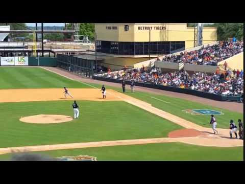 A.J. Reed Slugs Third 2016 Preseason Home Run