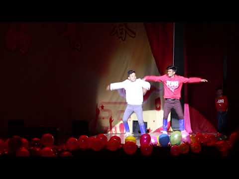 Bangali Dance In China . Shanxi University  Taiyuan.