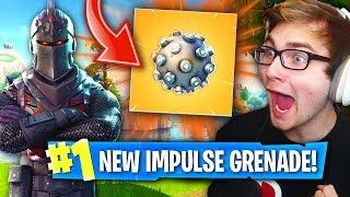 NEW IMPULSE GRENADE IN Fortnite Battle Royale! (200 IQ PLAY....INSANE GAMEPLAY)