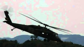 ヘリコプターフェスティバル IN Tateyama 2011~落下傘降下・フィナーレ.