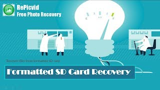 Recover Photo/Video/Audio Files from Formatted SD Memory Card