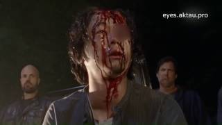 Смерть Глена Ходячие мертвецы 7 сезон