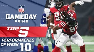 Primetime's Top 5 Performances from Week 10 | GameDay Prime | NFL RUSH