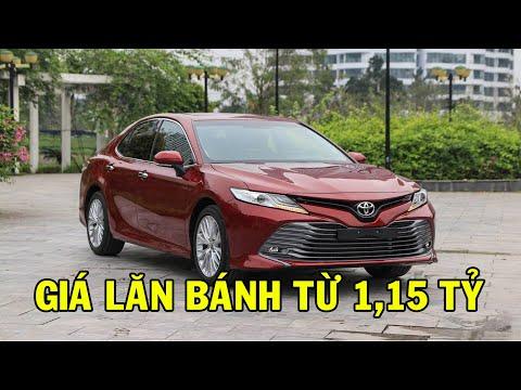 ✅ Báo giá lăn bánh Toyota Camry 2020, mẫu xe thành công nhất của Toyota trong 2019