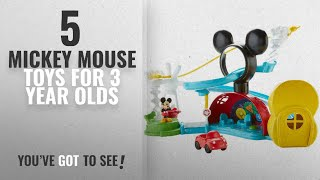 Top 10 Mickey Mouse Toys For 3 Year Olds 2018 : Fisher-price Disney Mickey Mouse Clubhouse, Zip,