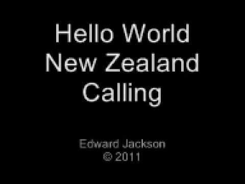 """""""Hello World - New Zealand Calling"""" (Real NZ RWC 2011 song comp entry)"""