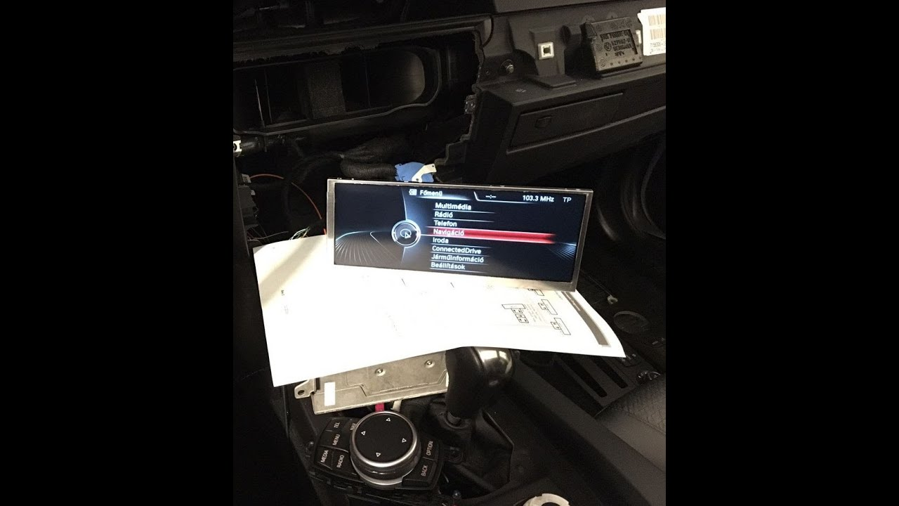 Bmw E60 E90 From Ccc To Nbt Navigation Retrofit With Touch Idrive Www Bmwtuning Hu Youtube