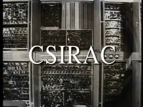 CSIRAC – The first computer to play music