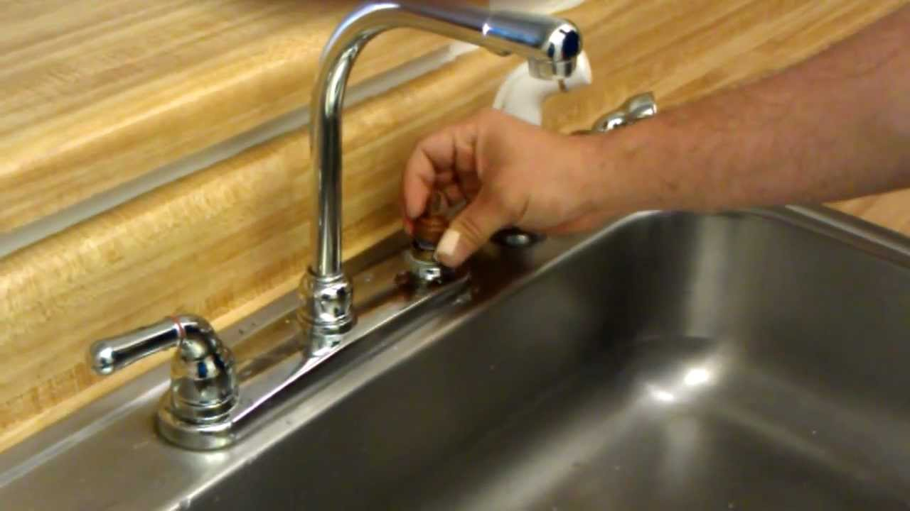 How to change faucet seats and springs - YouTube