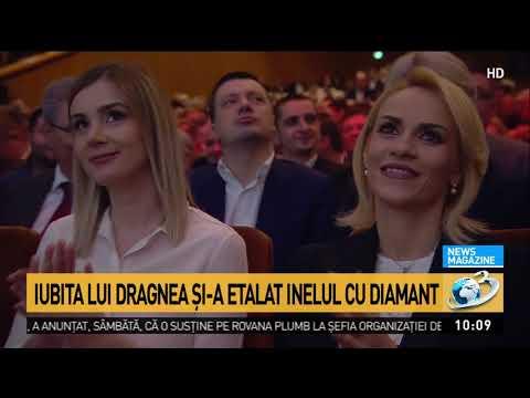Liviu Dragnea și-a adus iubita la Congresul PSD. Cum a fost primită Irina Tănase de social-democr