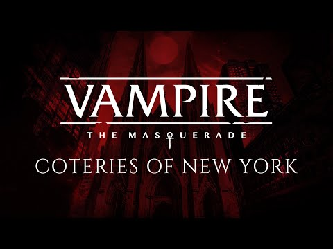 Vampire: The Masquerade - Coteries of New York announcement teaser PC and Nintendo Switch